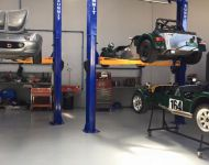 Lotus and Clubman In Workshop