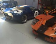 GT40s In Workshop